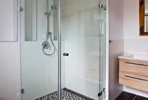 Glastrennwand-Dusche